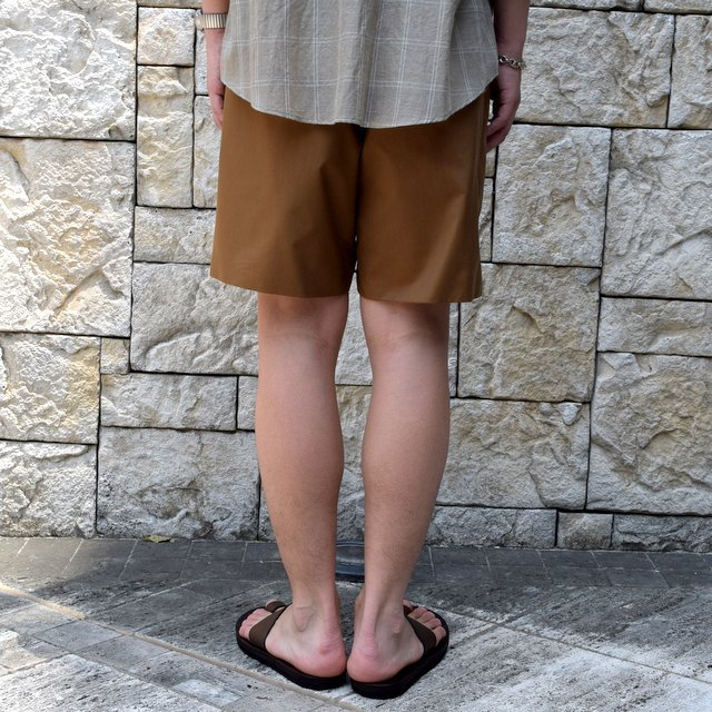 【2019 SS】AURALEE(オーラリー)/ LIGHT FINX POLYESTER SHORTS -2色展開-#A9SP03PW(8)
