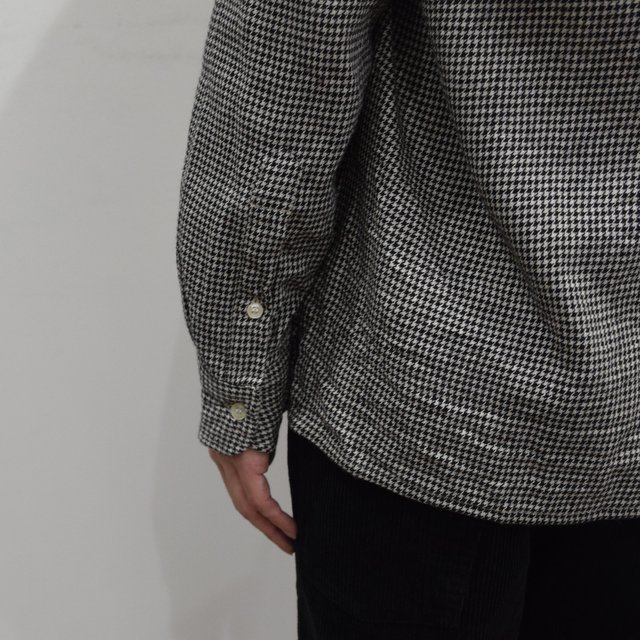 【2019 AW】 MOJITO(モヒート)/ ABSHINTH SHIRT Bar.2.0 -HOUNDS TOOTH (09)- #2094-1101(8)