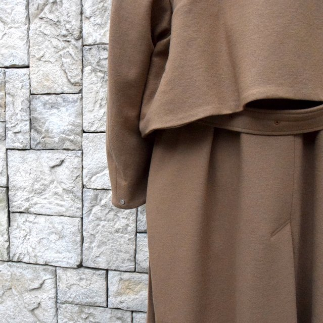 YOKE(ヨーク)/3WAY BAL COLLAR SHARE COAT -CAMEL- #YK19AW0049C(8)
