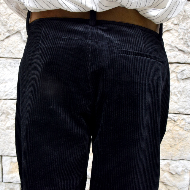 【2019 AW】 too good(トゥーグッド) / THE BRICKLAYER TROUSER JUMBO CORD -FLINT- #62034235(8)