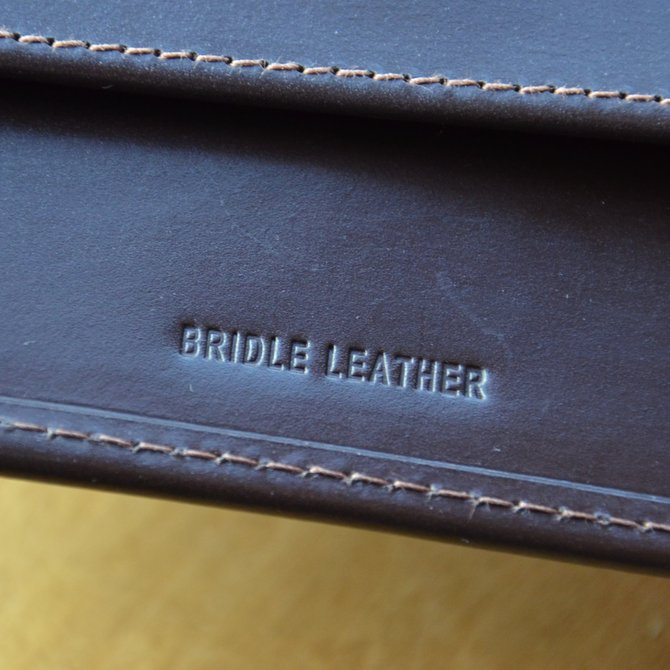 Whitehouse Cox (ホワイトハウスコックス)  3FOLD WALLET BRIDLE S7660 -HAVANA-(9)