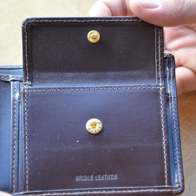 Whitehouse Cox (ホワイトハウスコックス)  COIN WALLET BRIDLE S7532 -HAVANA-(9)