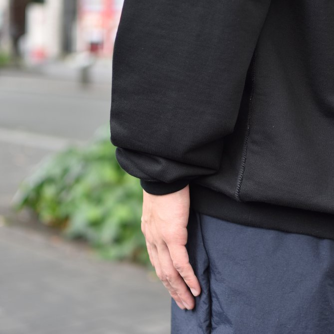 【2018 AW】AURALEE(オーラリー)/ SUPER SOFT HEAVY SWEAT P/O -BLACK- #A8AP01GU(9)
