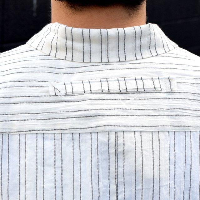 【2019 SS】 too good(トゥーグッド) / THE DRAUGHTSMAN SHIRTS WIDE -TICKING STRIPE-(9)