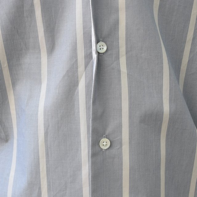 【30% off sale 】un unbient /TAILORED COLLAR SHIRT -BLUE STRIPE-#UNSSH1919-1(9)
