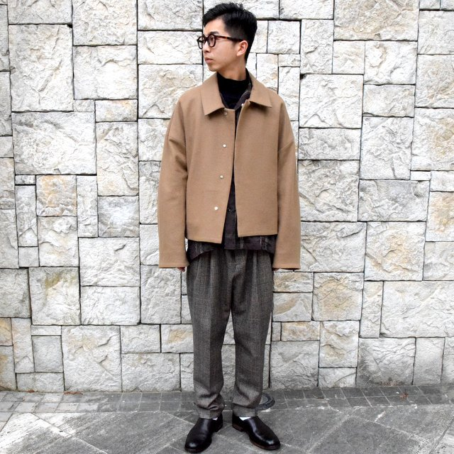 YOKE(ヨーク)/3WAY BAL COLLAR SHARE COAT -CAMEL- #YK19AW0049C(9)