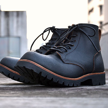 William Lennon & Co Ltd(ウィリアム・レノン) HILL BOOTS -BLACK HUNTSMAN-
