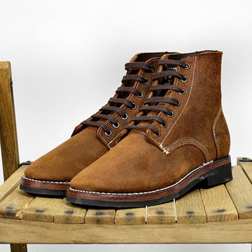 BENCH BUILT(ベンチビルド) US ARMY TYPE3 Boot -BROWN SUEDE- (Width:E)