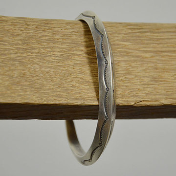 AL SOMERS(アルソマーズ) SILVER TRIANGLE BANGLE -B1360-