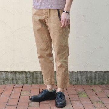 A VONTADE(ア ボンタージ) Classic Chino Trousers Cropped Length -#1 BEIGE-