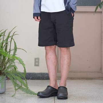 MASTER&Co.(マスターアンドコー) CHINO SHORTS with BELT -(99)BLACK- #MC076 【S】