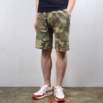 MASTER&Co.(マスターアンドコー) CHINO SHORTS with BELT -(01)CAMO-