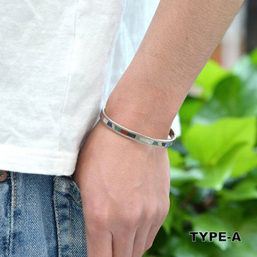 Tsunai Haiya(ツナイハイヤ)  Sunbow Bangle -Narrow-