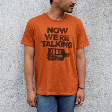 【30% off sale】Speakeasy(スピークイージー) T-shirt -TEXAS ORANGE-