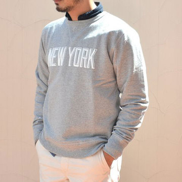 RIDING HIGH (ライディングハイ) WORLD TRIP CREW SWEAT -G(NEW YORK)-