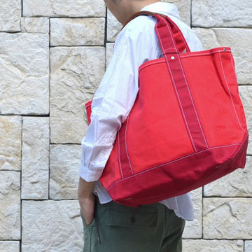 TEMBEA(テンベア) FIELD TOTE MEDIUM -RED/RED-