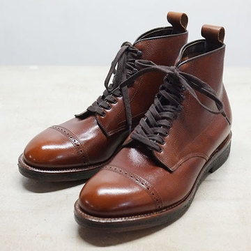 Alden(オールデン) ALPINE CAP TOE BOOT(ALPINE CALF) -BROWN- #86910H