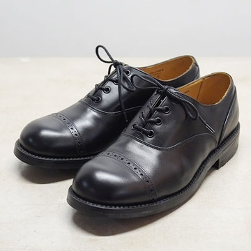 The Old Curiosity Shop Quilp by Tricker's(クイルプ バイ トリッカーズ)Men's Black Box Carf Oxford Shoes(Fitting4) -Black-