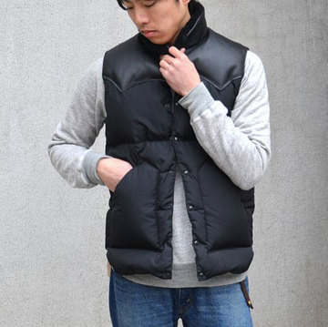 Rocky Mountain Featherbed(ロッキーマウンテンフェザーベッド) CHRISTY VEST -BLACK-  #199-450-512-02-bk