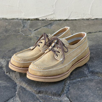 RUSSELL MOCCASIN (ラッセルモカシン) HURON MOCCASIN-MANSON ARMY LAST -LARAMIE SUEDE TAN-