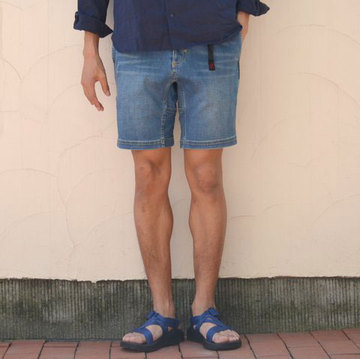 Gramicci(グラミチ) DENIM NN-SHORTS -MEDIUM USED-
