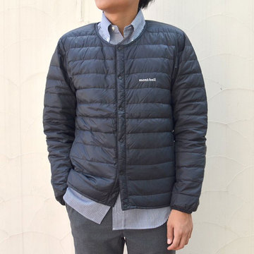 mont-bell(モンベル) Superior Down Round Neck Jacket Men's -BK(ブラック)- #1101503