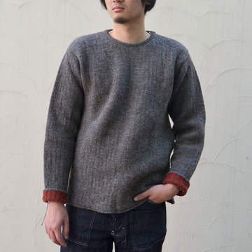 TENDER Co.(テンダー) PULL OVER KNIT -BROWN- #760