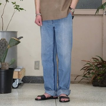 7 ×7 / seven by seven ( セブン バイ セブン )   REWORK DENIM TROUSERS  - INDIGO - size XS。、S