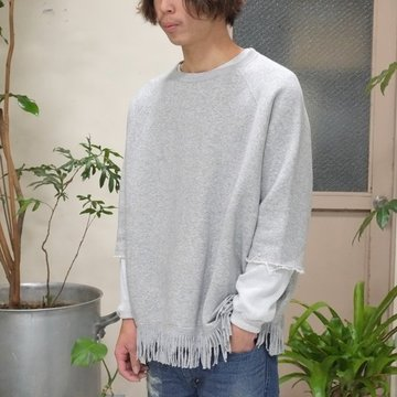 YOUNG&OLESEN(ヤングアンドオルセン) big western pullover -HEATHER-