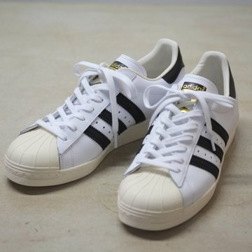 adidas(アディダス)   SUPER STAR 80S -WHITE/BLACK-