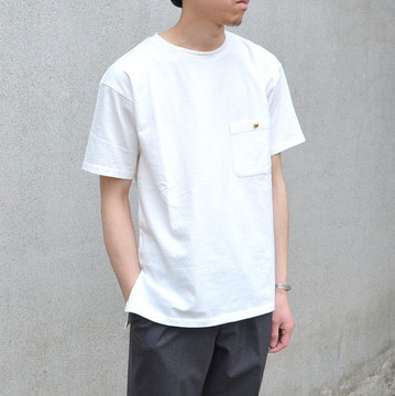Honor gathering(オナーギャザリング) TEE-WHITE