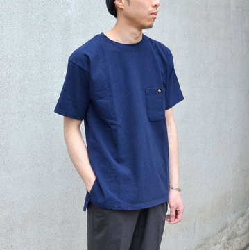 Honor gathering(オナーギャザリング) TEE-NAVY