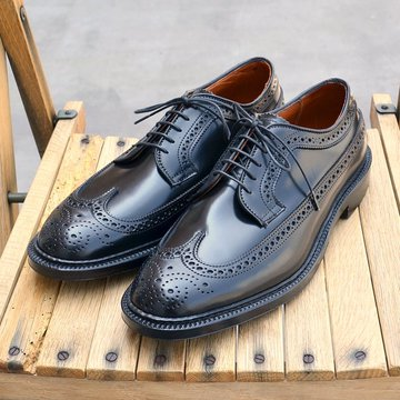 Alden(オールデン) LONG WING TIP(Cordovan) -BLACK- #9751