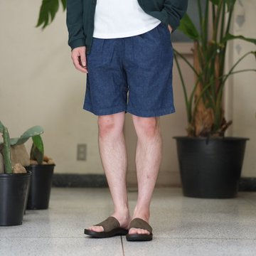 orSlow(オアスロウ)/ UNISEX CLIBMING DENIM SHORTS -(81)Denim one wash - #03-7004-81