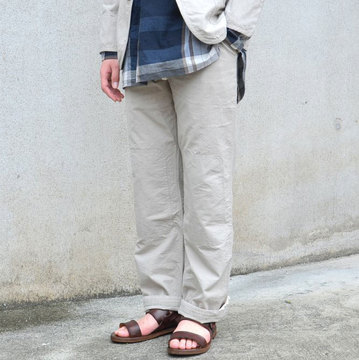 【40% off sale】ts(s) (ティーエスエス) KNEE-PATCH-TRAINING-PANTS-KHAKI-