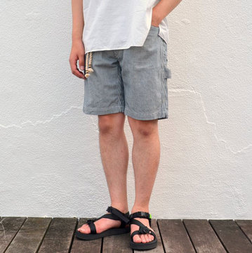 orSlow(オアスロウ) SLIM FIT PAINTER SHORTS -HICKORY-