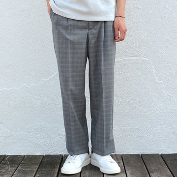 【50% off sale】GOLDEN GOOSE (ゴールデングース) PANT DAN WITH BELT -(A1)GREY GALLE-