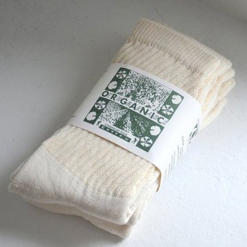 ORGANIC THREADS(オーガニックスレッド) 3PACK ORGANIC SOCKS -Regular-