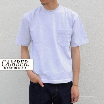 CAMBER(キャンバー) MAX WEIGHT POCKET TEE -GREY-