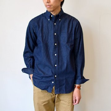 【2016 AW】INDIVIDUALIZED SHIRTS(インディビジュアライズドシャツ) V DENIM B.D (Standard fit) -INDIGO- #INSH-00227