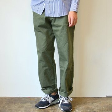 【2016 AW】A VONTADE(ア ボンタージ) Classic Chino Trousers -Wide Fit-OLIVE- #VTD-0340-PT