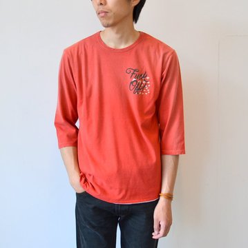 【40% off sale】WHITE LINE(ホワイトライン) vintage T-shirts(WOLVES KILL SHEEP) -RED- #WLC3149
