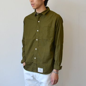 commono reproducts(コモノリプロダクツ) WORKERS SHIRTS -Olive- #CRW2001