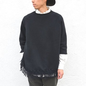 YOUNG&OLESEN(ヤングアンドオルセン) big western pullover -BLACK- #YO1603CS009