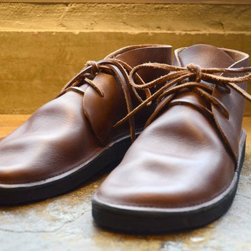 AURORA SHOES(オーロラシューズ) NORTH PACIFIC(MEN'S) -BROWN- #NP-M