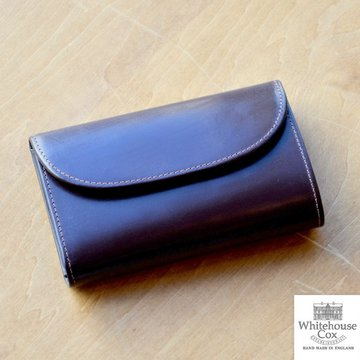 Whitehouse Cox (ホワイトハウスコックス)  3FOLD WALLET BRIDLE S7660 -HAVANA-
