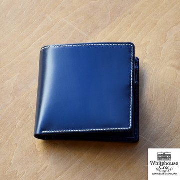 Whitehouse Cox (ホワイトハウスコックス)  COIN WALLET BRIDLE S7532 -NAVY-