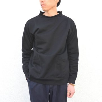 【17 SS】Honor gathering(オナーギャザリング) Supima Cotton High Count Micro Sweat -black- #17SS-N02
