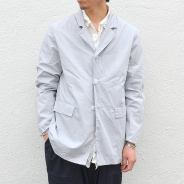 【40% OFF SALE】CASEY CASEY(ケーシーケーシー)/ CRISP JACKET -L GREY- #08HV130