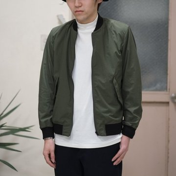 【40% OFF SALE】toff(トフ) / FLAP POCKET ZIP UP BLOUSON -OLIVE- #17STBZ02